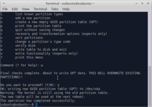 Преобразование диска GPT в MBR или MBR в GPT