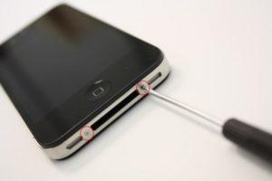 Правильное открытие крышки iPhone
