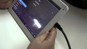 Правильное подключение планшета к ПК