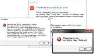 Ошибка DXGI_ERROR_DEVICE_REMOVED: что это и как её исправить