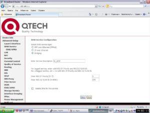 Как настроить роутер QTECH