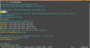 Как пользоваться протоколом SSH в Ubuntu: установка и настройка