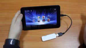 Использование планшета в качестве модема для доступа в интернет
