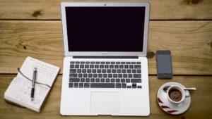 Работа с текстом в MacBook