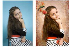 Замена фона на фотографиях через Photoshop