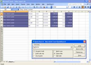 Поиск слов в Excel