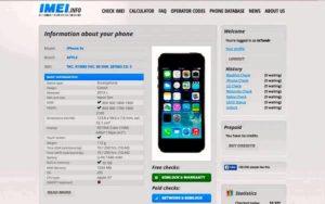 Как произвести проверку iPhone по IMEI