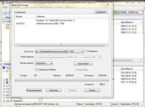 Как делается запись Live CD Windows на флешку