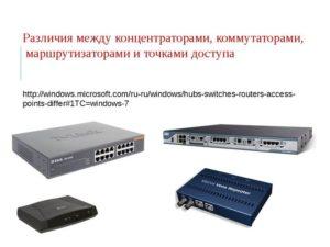 Отличия между роутером и маршрутизатором