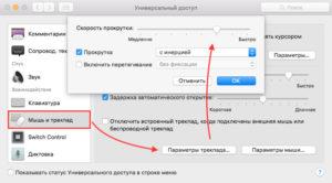 Как подключить опцию отключения Trackpad на MacBook при подключении мыши