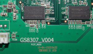 Замена прошивки на ресивере GS-8307