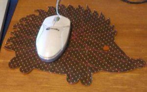 Оригинальный коврик для мыши своими руками