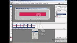 Создание анимации в Adobe Photoshop