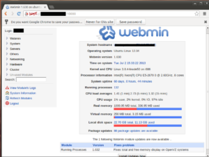 Правильная установка Webmin Ubuntu Server