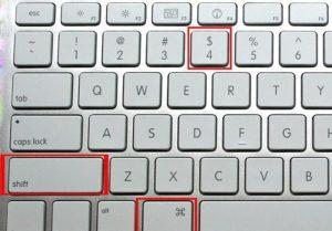 Как сделать скриншот в Mac OS