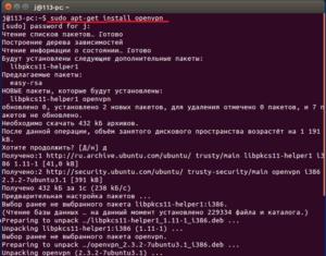 Установка и настройка OpenVPN для Ubuntu