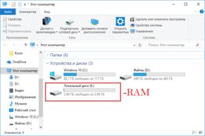 Создание и использование RAM-дисков в Windows