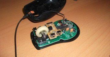 Разборка и ремонт компьютерной мышки
