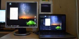 Подключение внешнего монитора к ноутбуку