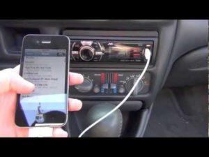 Подключение iPhone к автомагнитоле