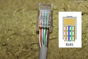 Как обжать кабель RJ-45 для интернета дома