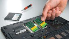 Увеличение оперативной памяти на ноутбуке