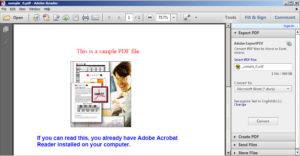 Редактирование PDF-файлов в Adobe Reader