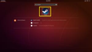 Установка Steam в Ubuntu