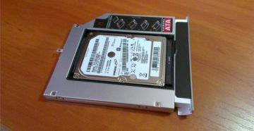 Установка SSD и HDD вместо дисковода