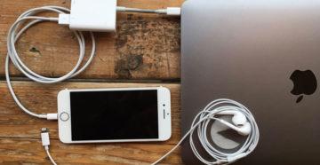 Подключение iPhone к MacBook