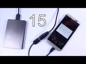 Способы подключение USB к смартфону