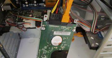 Подключение второго жёсткого диска к компьютеру