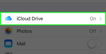 Отключение iCloud на iPhone