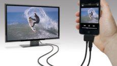 Подключение телефона или планшета к телевизору