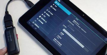 Подключение модема Билайн к планшету Android