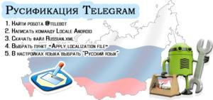Русификация «Telegram» на Android