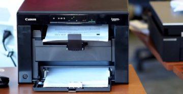 Установка и настройка принтера Canon i-SENSYS MF3010